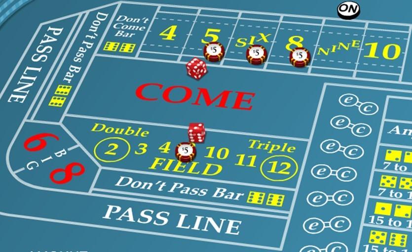 iron cross craps betting strategy